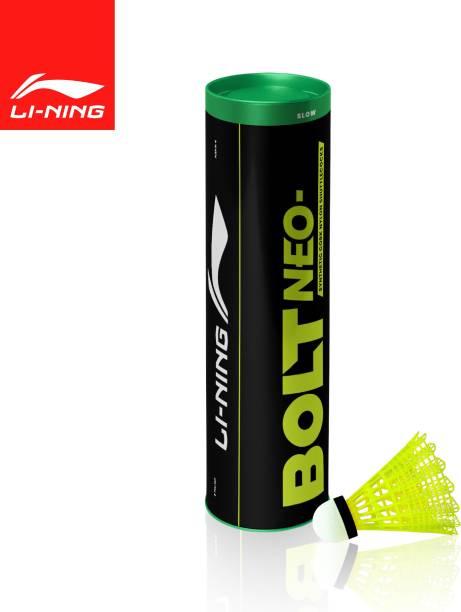 LI-NING Bolt Neo (6 in 1) Nylon Shuttle  - Yellow
