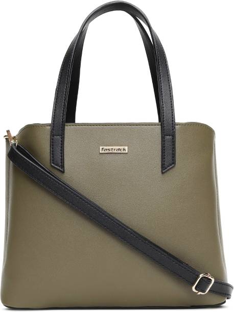 Fastrack Green Tote Tote for Girls