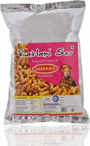 shekhaji Ratlami Sev, 400 Grams (Pack of 2-200 gm Each)