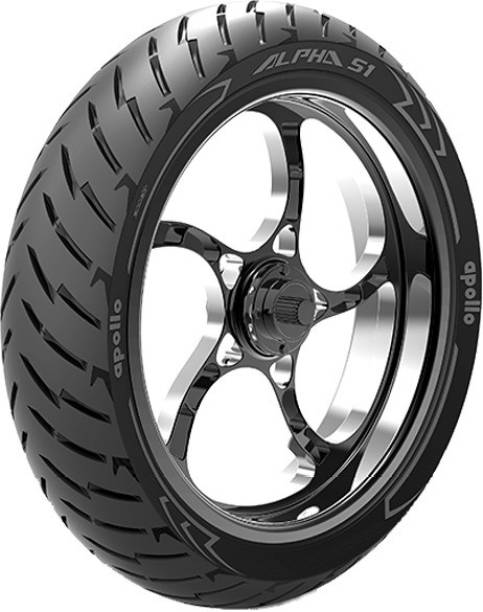 Apollo ALPHA S1 130/70 R17 62H Steel Belted Radial Tubeless Rear Tyre ALPHA S1 130/70 R17 62H Rear Tyre