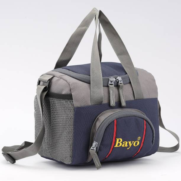 bayo LB 222 Lunch Tiffin Bag Navy Blue for School Office Picnic Waterproof Lunch Bag