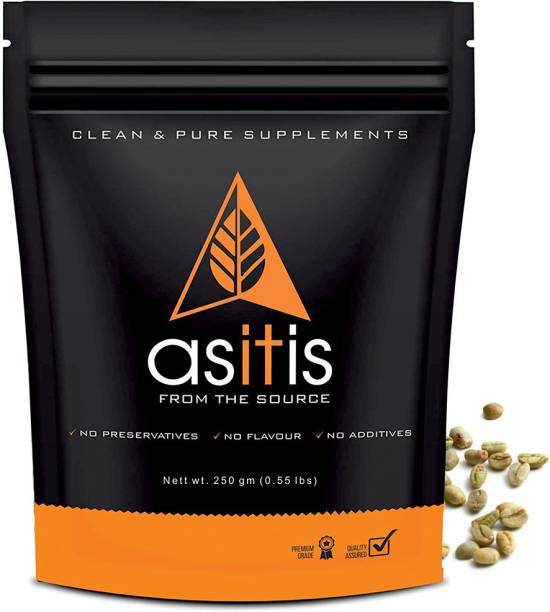 AS-IT-IS Nutrition Green Coffee Bean 250gms Instant Coffee