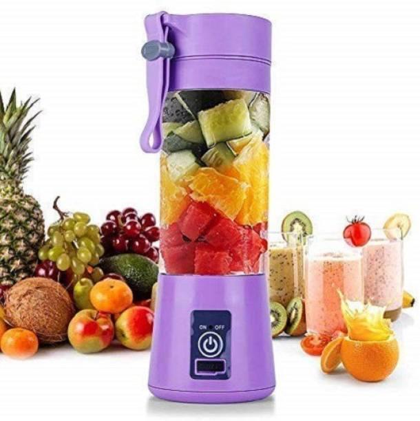 STUNNER Plastic Hand Juicer USB Jucier Electric Portable Fruit Juicer Mixer Grinder Blender Bottle