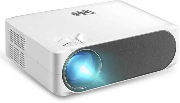 AUN AKEY6S 1GB 8GB Wi-Fi Bluetooth AirScreen 1920X1080P Android Version Full HD Smart Projector 6500 Lumen Led Projector Full HD Resolution Projector 4k Ultra HD Projector
