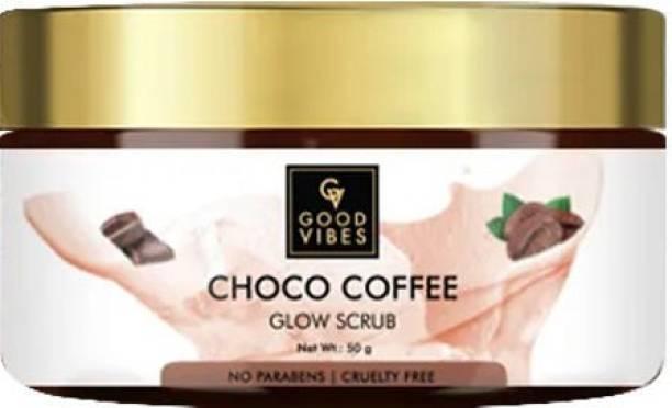 GOOD VIBES Choco Coffee Glow  Scrub