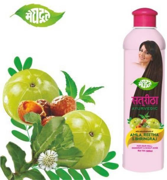 MEGHDOOT Satreetha Shampoo 500ml (Pack of 1)
