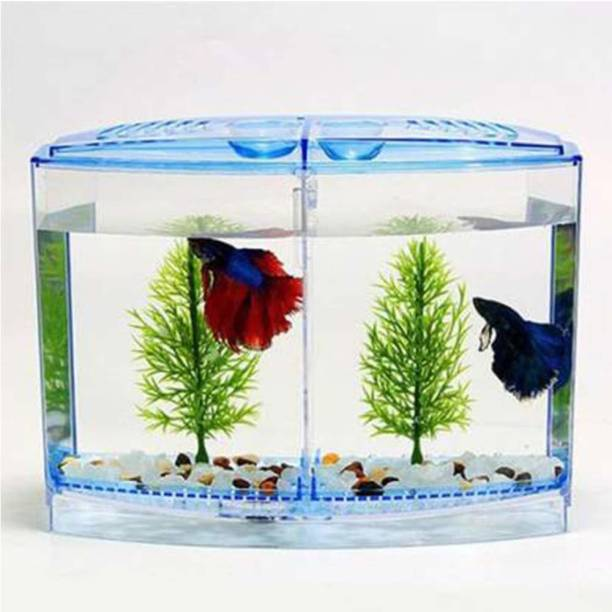 Taiyo Pluss Discovery House Double | Tank Rectangle Aquarium Tank Rectangle Aquarium Tank (1 L) Rectangle Aquarium Tank