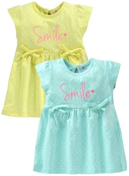 Angaakar Clothings Indi Baby Girls Midi/Knee Length Casual Dress