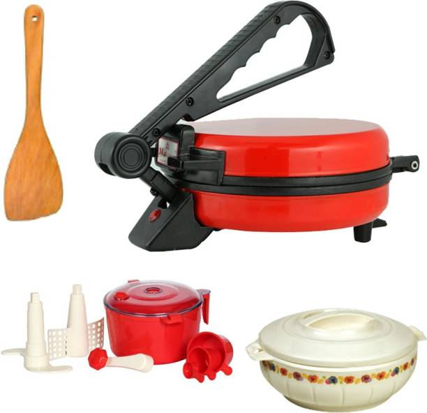 Matangi Red roti maker combo Roti and Khakra Maker