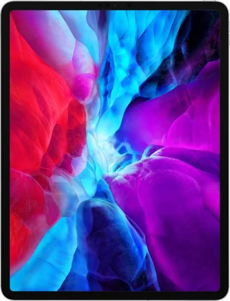 APPLE iPad Pro 2020 (4th Generation) 6 GB RAM 128 GB ROM 12.9 inch with Wi-Fi+4G (Silver)