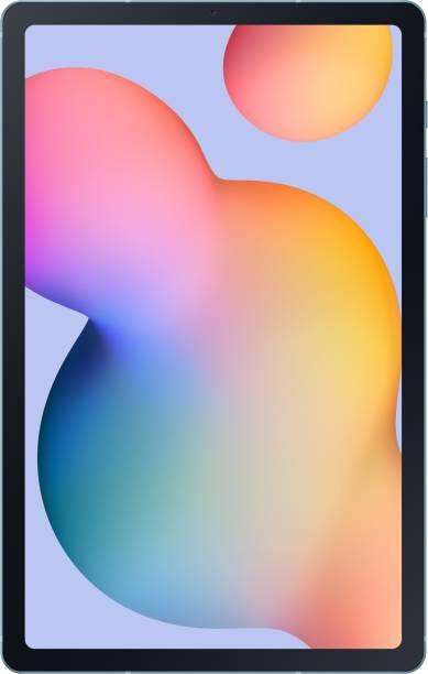 SAMSUNG Galaxy Tab S6 Lite 4 GB RAM 64 GB ROM 10.4 inch with Wi-Fi+4G Tablet (Angora Blue)