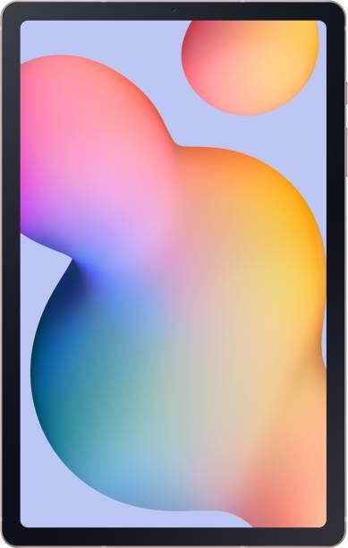 SAMSUNG Galaxy Tab S6 Lite 4 GB RAM 64 GB ROM 10.4 inch with Wi-Fi+4G Tablet (Chiffon Pink)