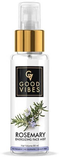 GOOD VIBES Energizing Face Mist - Rosemary Men & Women