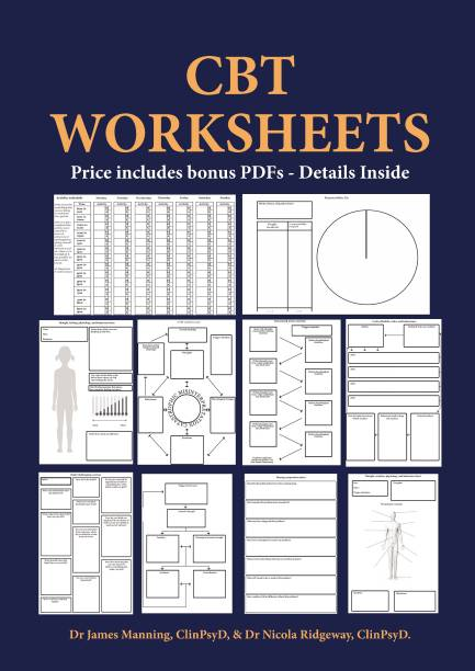 CBT Worksheets: CBT worksheets for CBT therapists in training - Formulation worksheets, generic CBT cycle worksheets, thought records, thought challenging sheets, and several other useful photocopyable CBT worksheets and CBT handouts all in one book