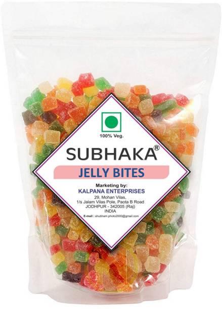 SUBHAKA JELLY BITES / MIX FRUIT CANDY MIX FRUIT Jelly Candy