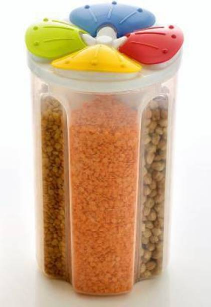 BONIRY 4 section Kitchen Storage 1 Piece Spice Set