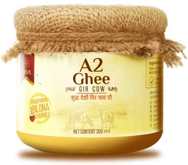 Jiva A2 Gir Cow Ghee 300ml Ghee 300 ml Mason Jar