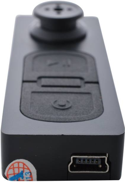 SIOVS spy HD Quality Spy Button Camera Series 1, with Hidden Audio /Video Recording securitycamera .32gb Supportable Memory. Spy Camera While Recording no Light Flashes. Security Camera