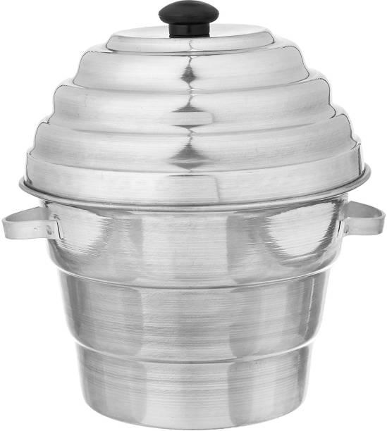 lucky industries Aluminium 15 Idly /Dhokla /Momos /Khamand Cooker Steamer Induction & Standard Idli Maker