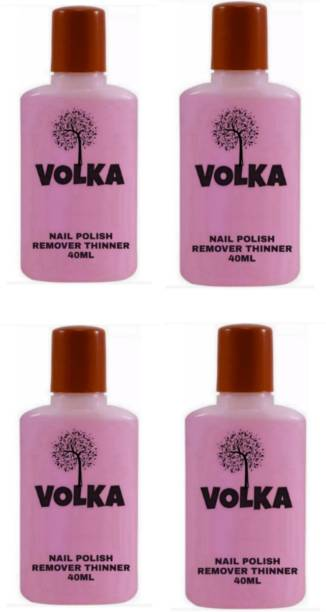 VOLKA Nail polish paint remover thinner A76 (PACK OF 4)