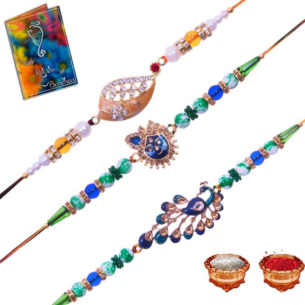 Dreamlivproducts Designer Rakhi  Set