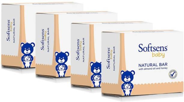 Softsens Baby Natural Bar Multipack (300gx4)