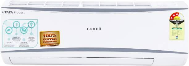 Croma 1 Ton 3 Star Split AC  - White