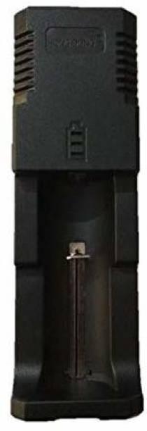 Betlex Universal Single-Slot Battery Charger Camera Battery Charger (Black)  Camera Battery Charger