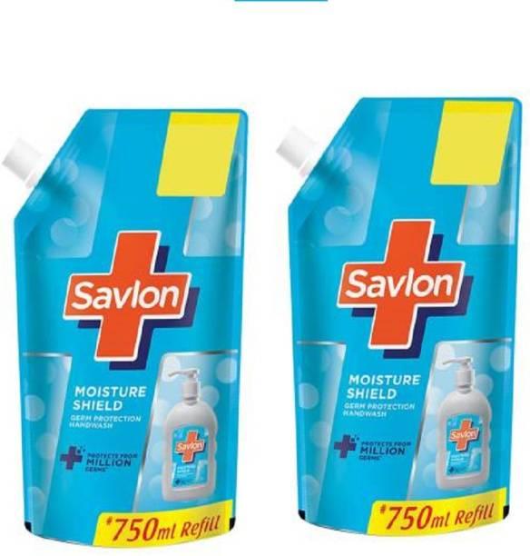 Savlon hand wash 750ml pack of 2 Hand Wash Pouch