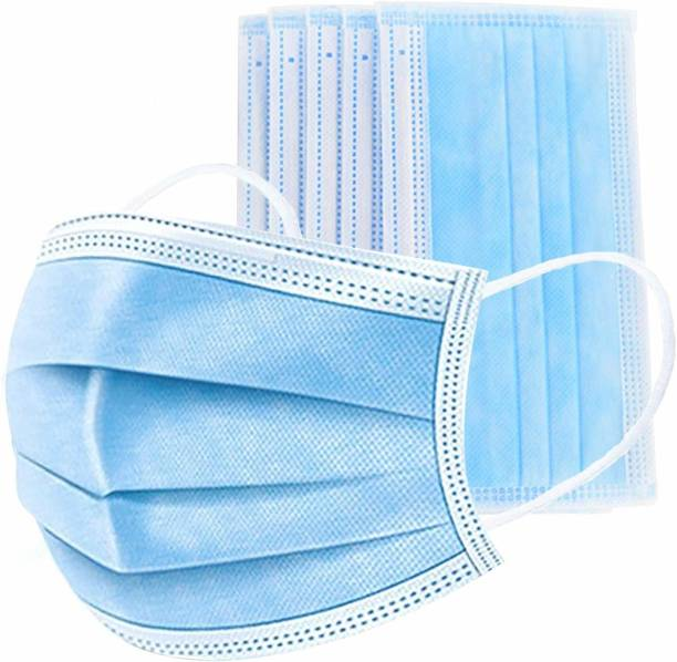 Nea 3 layered / 3 ply Pharmaceutical mask with middle layer as Meltblown layer Surgical Face mask Mask-100 - Meltblown 01 Water Resistant Surgical Mask With Melt Blown Fabric Layer