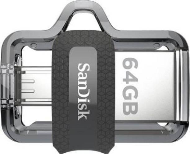 SanDisk Dual SDDD3-064G-I35 64 GB OTG Drive 64 GB Pen Drive