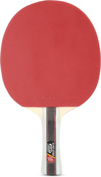 GKI Euro Star With Round Cover Multicolor Table Tennis Racquet