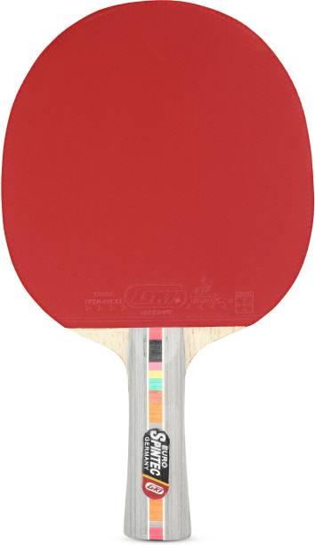 GKI EURO SPINTECH Table tennis Multicolor Table Tennis Racquet