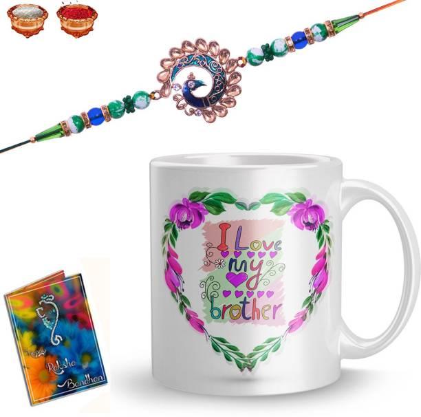 Plakasha creations Bhaiya Bhabhi Mug  Set