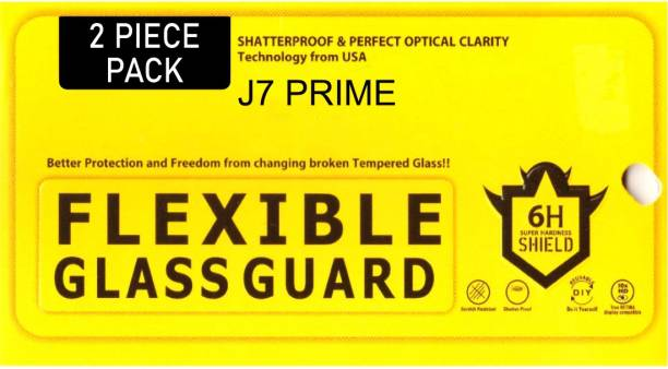 Techfit Tempered Glass Guard for Samsung Galaxy J7 Prime