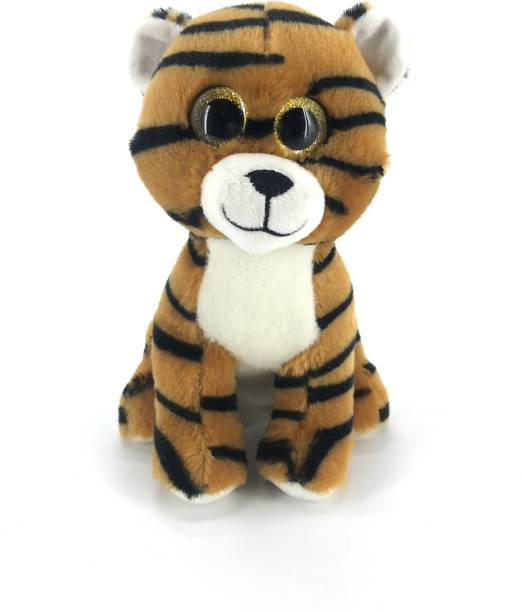 Dimpy Stuff Sparkle Eyes Tiger Standing  - 20 cm
