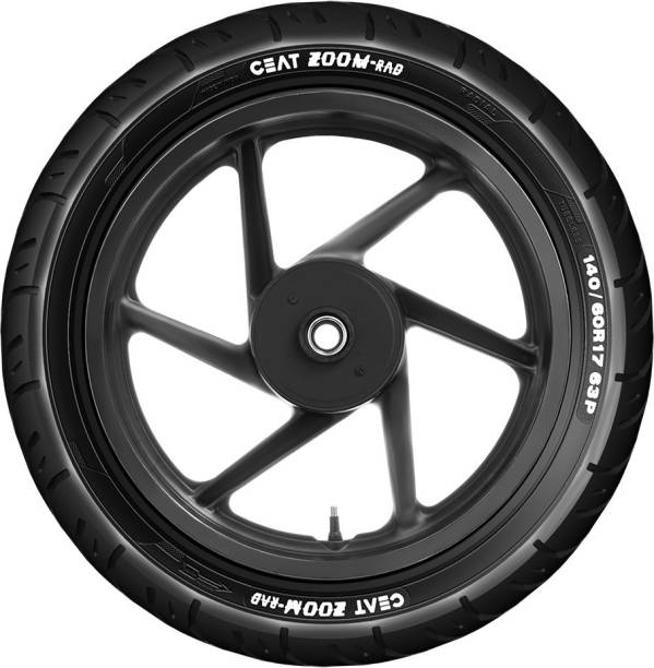 CEAT ZOOM RAD 63P 140/60R17 Rear Tyre