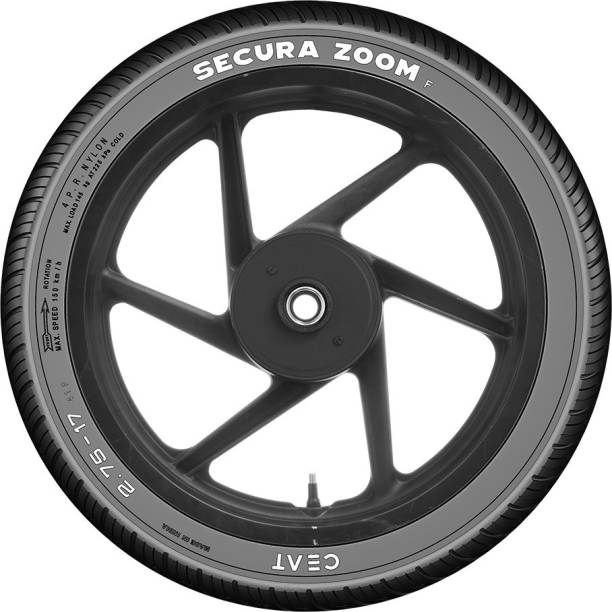 CEAT 100523 SECURA ZOOM F 41P 2.75-17 Front Tyre