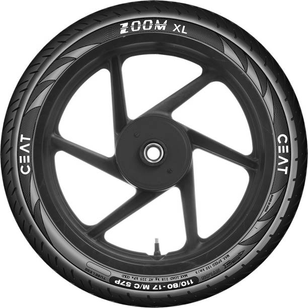 CEAT 102453 ZOOM XL 57P 110/80-17 Rear Tyre