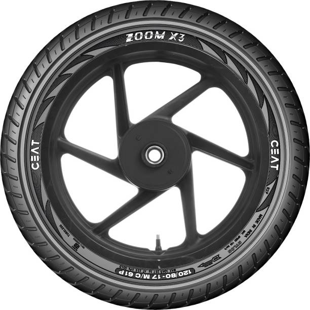 CEAT 106074 Zoom X3 61P 120/80-17 Rear Tyre