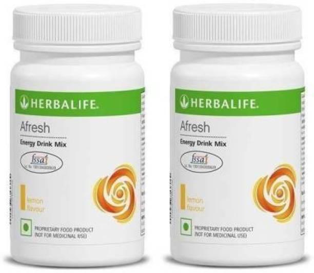 HERBALIFE Combo of Afresh Lemon Energy Drink