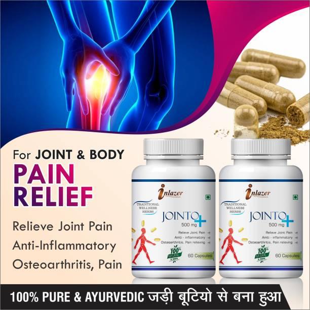 inlazer Jointo plus herbal capsules for arthritis pain 100% Pure Ayurvedic