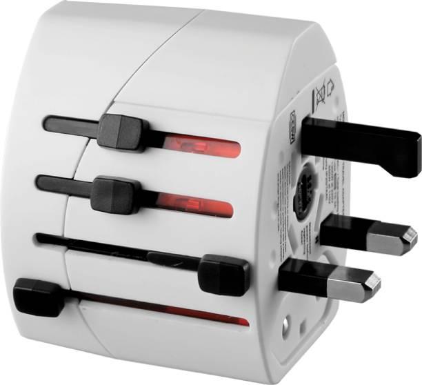 HPL Dual USB Worldwide Adaptor