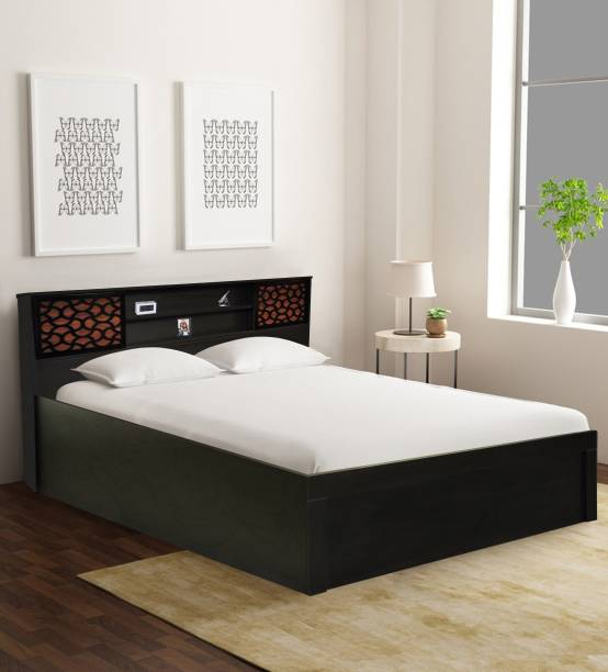 Barewether Engineered Wood Queen Hydraulic Bed