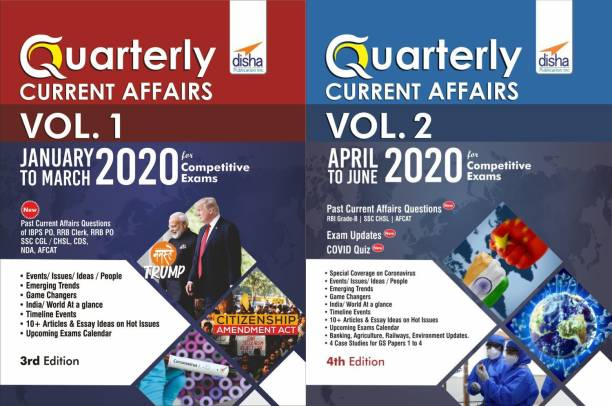 Half-Yearly Current Affairs - January to June 2020 for Competitive Exams (set of 2 Quaterlies) 4th Edition