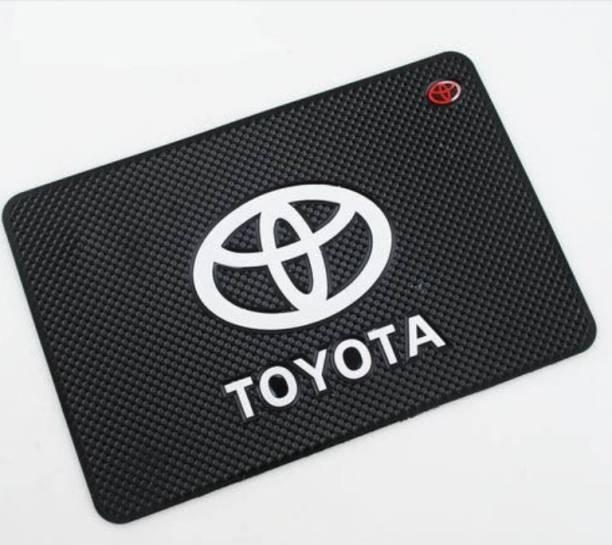 EliteAuto Rubber Standard Mat For  Toyota Universal For Car, Fortuner Old, Innova Crysta, Innova, Camry