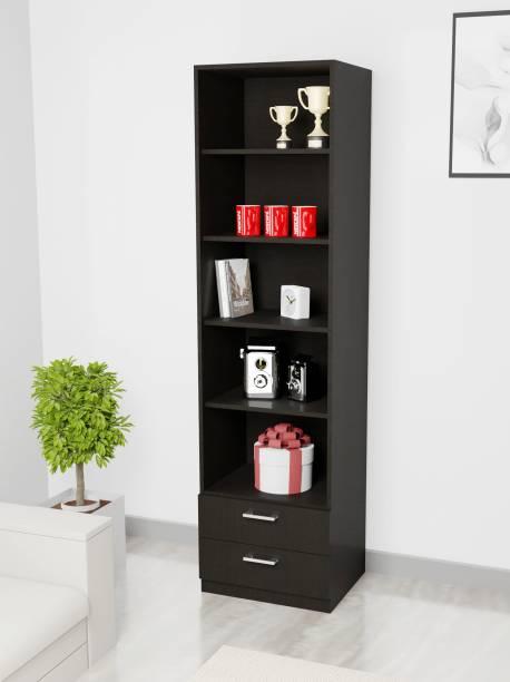 Barewether Engineered Wood Semi-Open Book Shelf