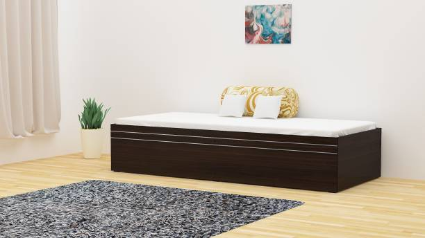 Okra Solo Engineered Wood Single Box Bed