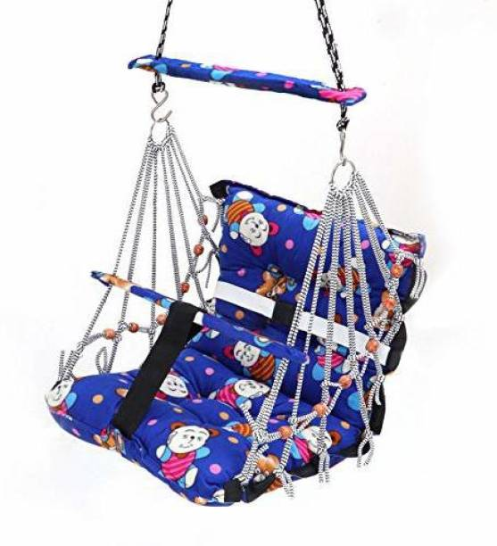 VENKAT ZONE New Cotton Baby Swing for Kids Cotton Small Swing