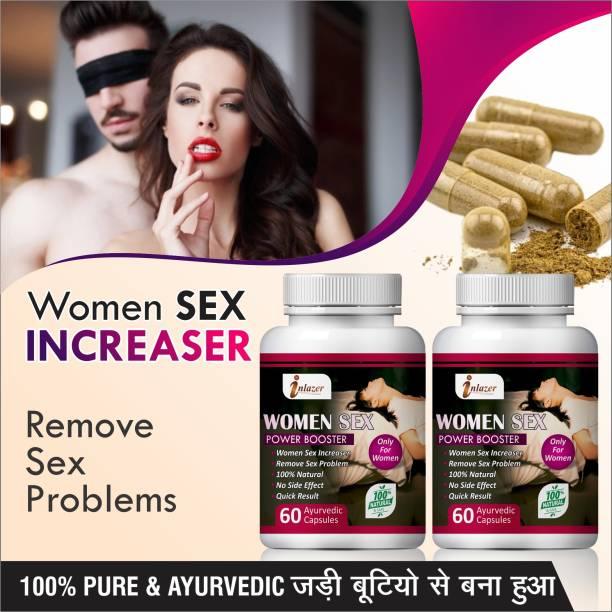 inlazer Women sex power booster Ayurvedic Supplement 100% Herbal Treatment